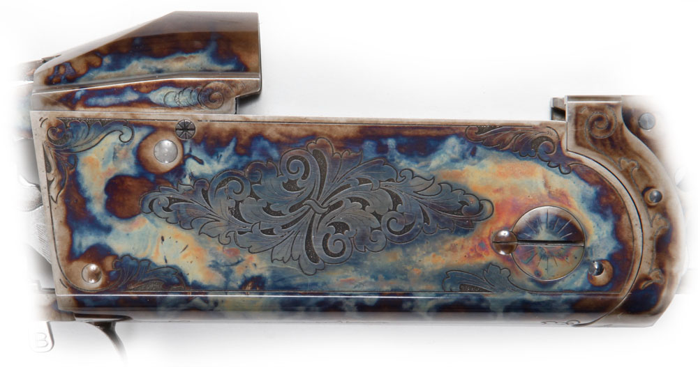 Krieghoff Arabesques Colour Case Engraving