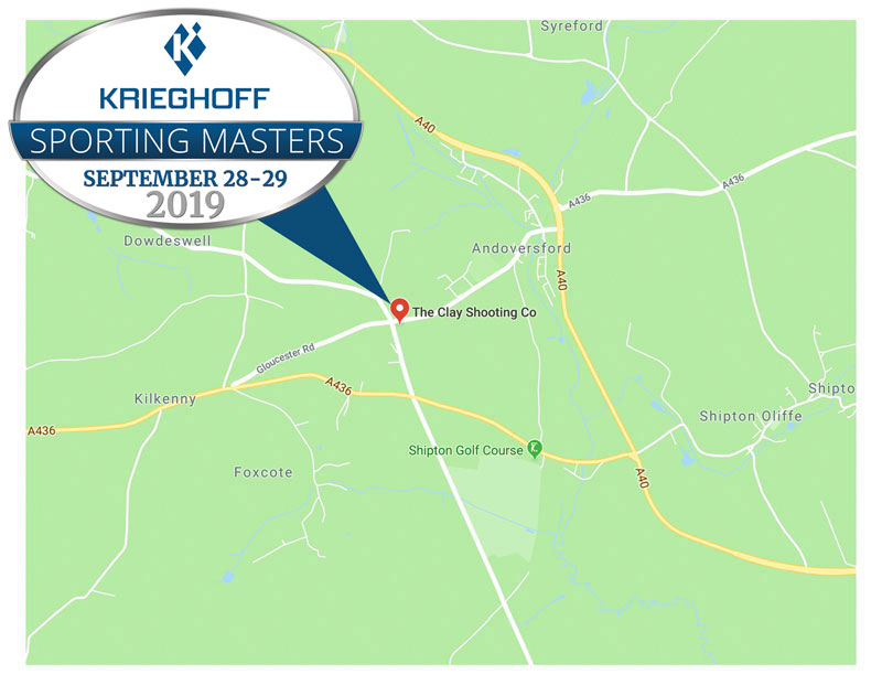 Krieghoff Sporting Masters Map