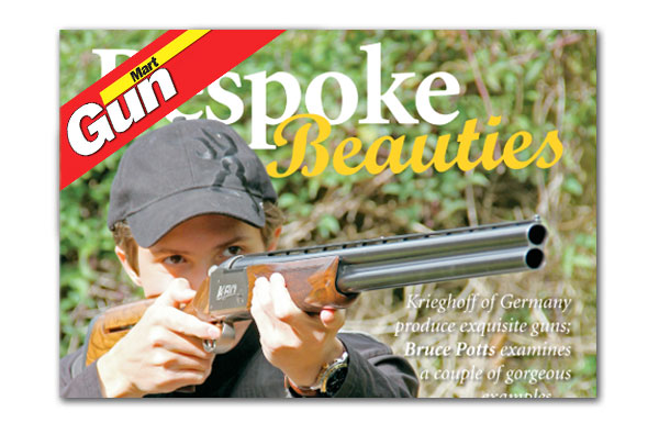 Krieghoff Trap Article in Gun Mart