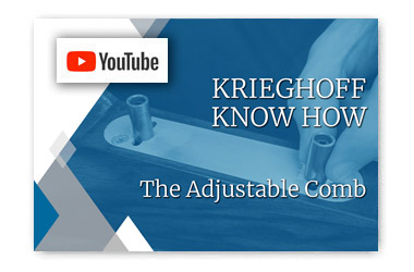 Krieghoff Know How - The Adjustable Comb