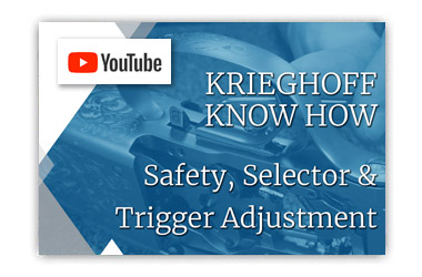 Krieghoff Know How - Safety, Selector and Trigger Adjustments