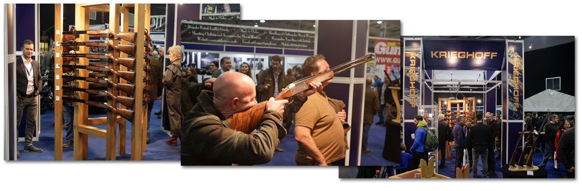 Krieghoff at the Shooting Show